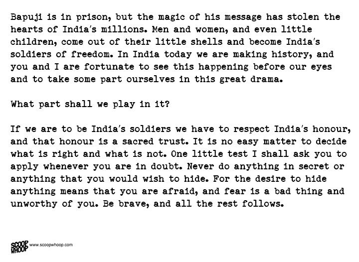 Nehru's Letter To Daughter Indira From Prison Is The Best Advice A ...
