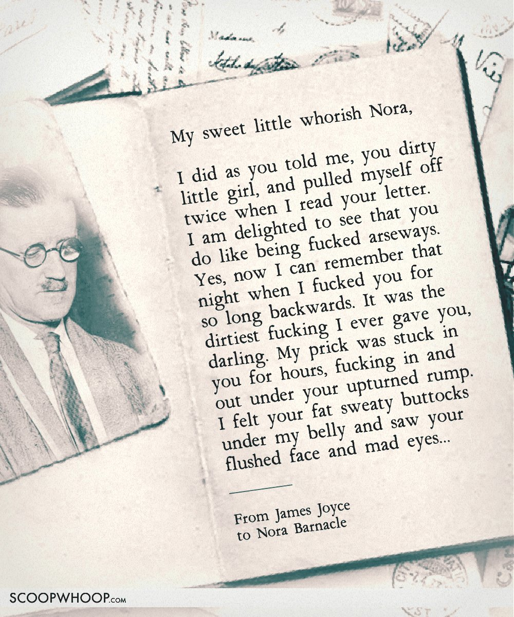 3 james joyce to nora barnacle