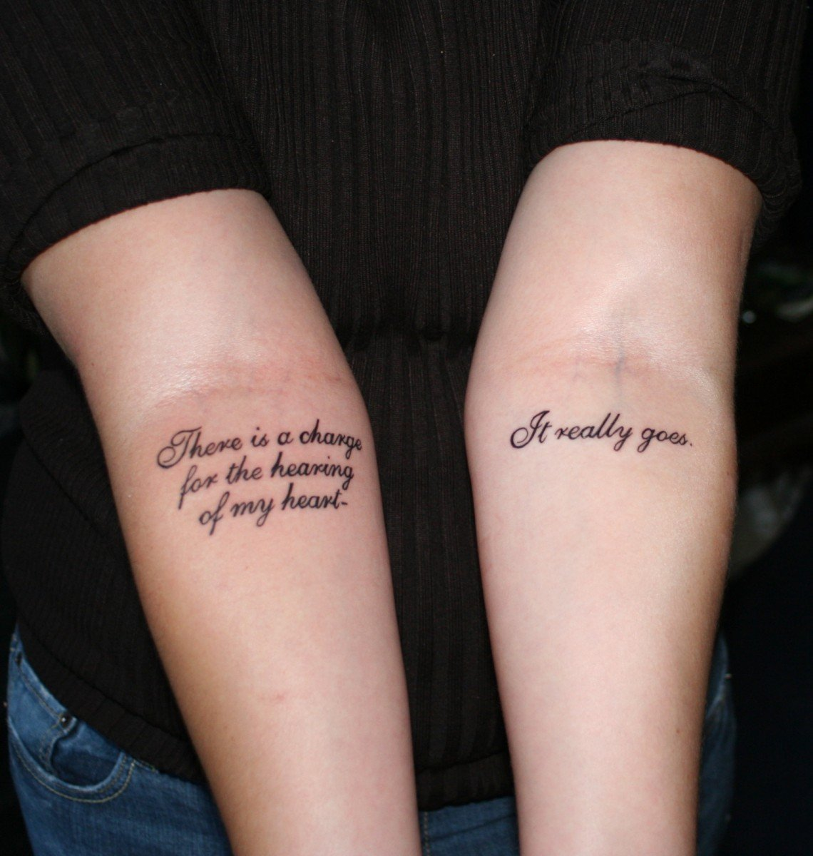 45a6640cc 13 Meaningful Tattoo Ideas For Poetry Lovers That Will 'Literary ...