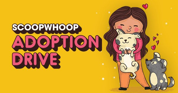 Adopting one puppy won't change the world. But it will mean the world to your new furry baby. ScoopWhoop is organising an adoption drive at PetFed on 15th-16th December at NSIC Grounds, Okhla, Delhi. Come and be a part of this initiative and change a pupper's life forever.