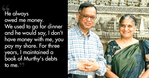 Sudha & Narayana Murthy's Story Teaches Us There Is More To Relationships Than Just Romance