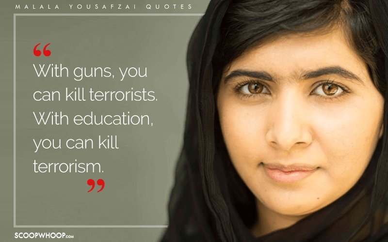 I Am Malala Quotes Inspiration 15 Quotesmalala Yousafzai That Show How The Pen Holds More