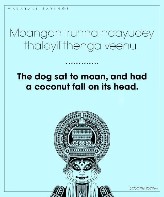 25 Malayalam Sayings That Deliver Wisdom With A Generous Dose Of Humour