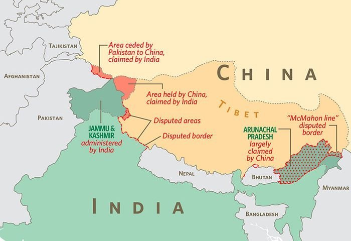china s strategic posture in tibet 5 maps that explain china's strategy  china china's primary strategic interest is maintaining the territorial integrity of china from internal threats if it lost control of tibet or .