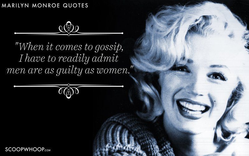 52 Quotes By Marilyn Monroe That Break The Dumb Blonde