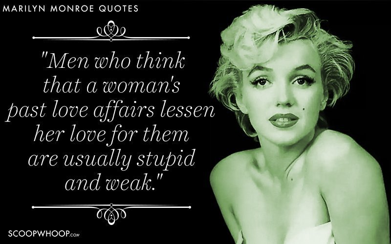 52 Quotes By Marilyn Monroe That Break The \'Dumb Blonde ...