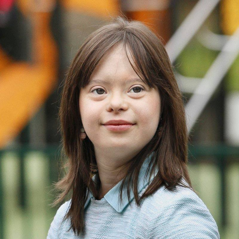 Have Downs syndrome girl facebook situation familiar