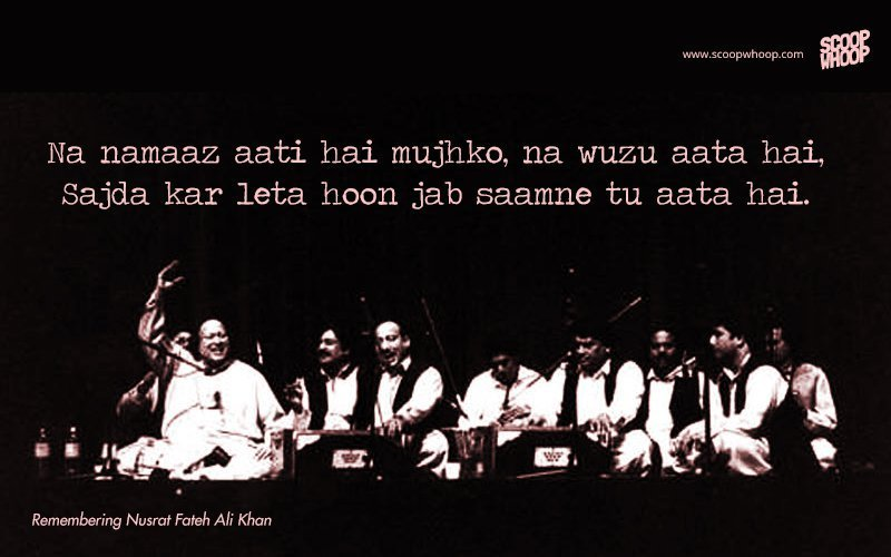 15 Nusrat Fateh Ali Khan Qawwalis That Are Sure To Give You
