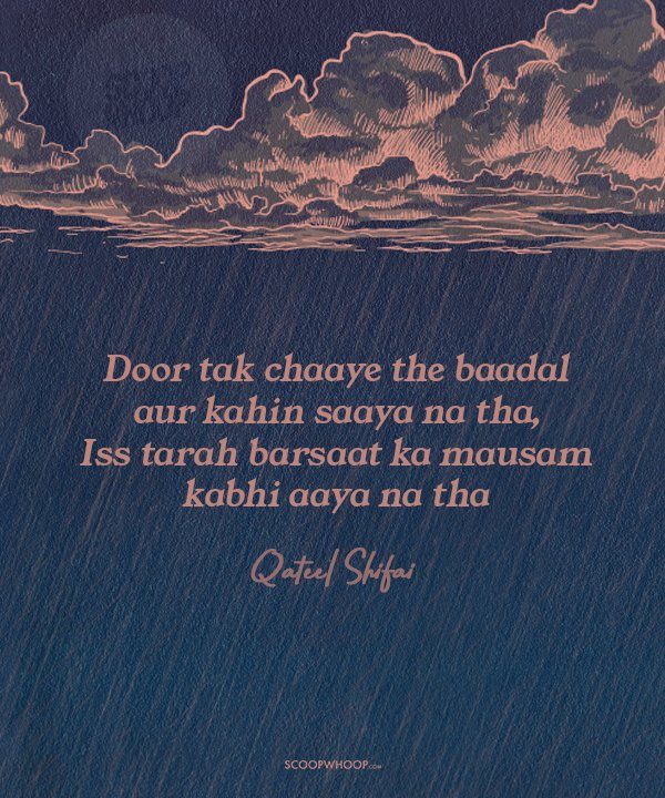12 Shayaris On Rain That Will Completely Drench You In Their