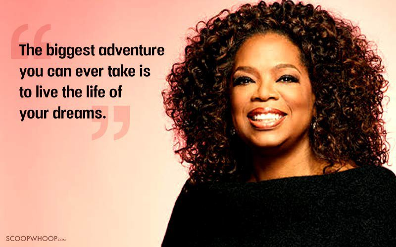 Profound Quotes About Life Extraordinary 30 Inspiring Oprah Winfrey Quotes That'll Help You Live Life At