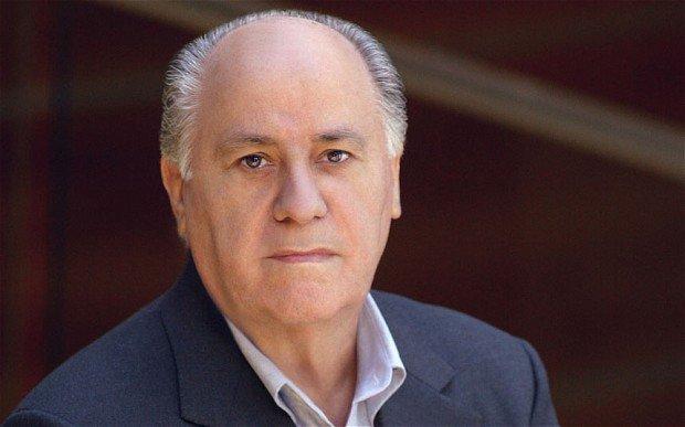 نتيجة بحث الصور عن 2. Amancio Ortega – 67 billion