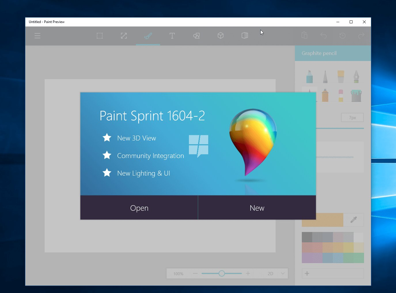 MS Paint Just Got A Makeover It's Un-Freaking-Believably Awesome