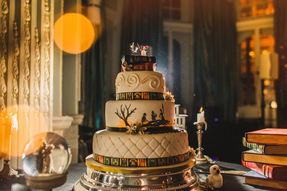 This British Couple Had A Harry Potter Themed Wedding It S