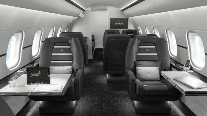 These Ultra Luxurious Private Jets Owned By The Super Rich Will Make Business Class Look Like A Bus