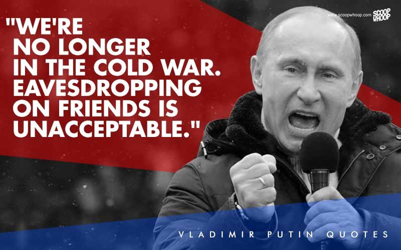 13 Badass Vladimir Putin Quotes That Can Put Even Hollywood Action