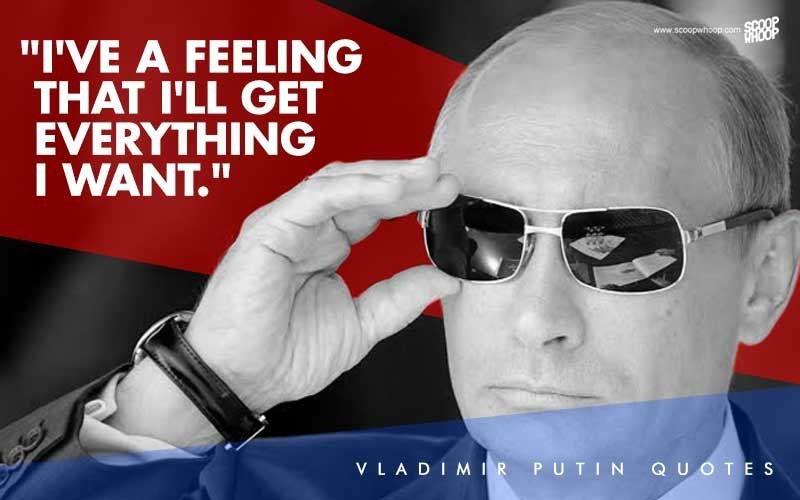 Here Are 13 Badass Vladimir Putin Quotes That Will Put Most Hollywood Action Heroes To Shame