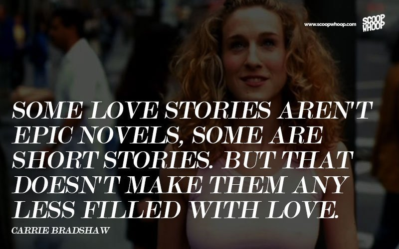 Sex and the city quotes about love Nude Photos 90