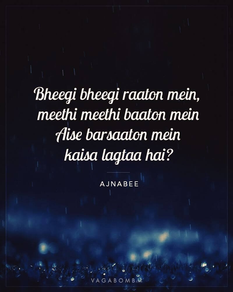 10 Bollywood Lyrics That Capture Your Love For Rains Perfectly Search from most trending, weekly top 15, hindi movie songs, etc on jiosaavn. bollywood lyrics that capture your love