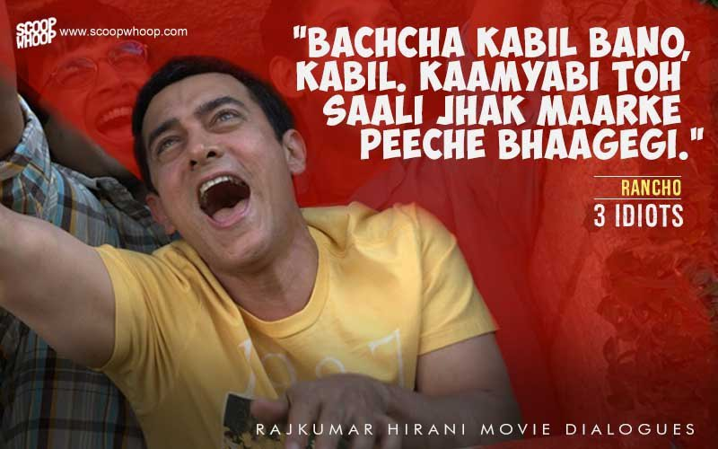 24 Dialogues From Rajkumar Hirani Movies That Capture Life In Its