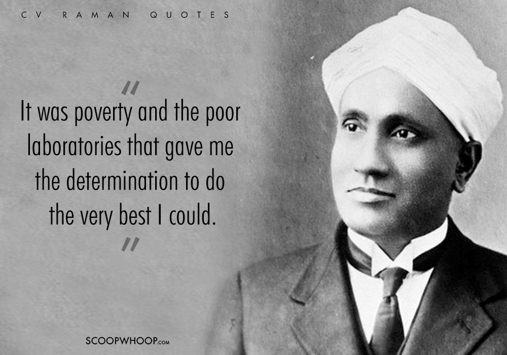 10 cv raman quotes that prove he understood life just like