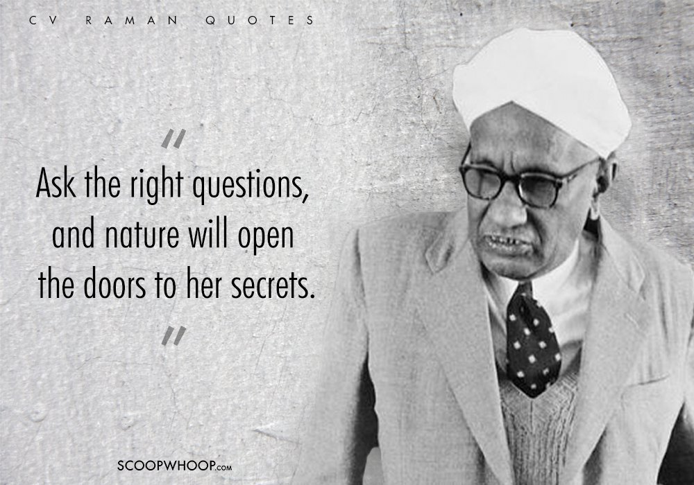 10 Cv Raman Quotes That Prove He Understood Life Just Like He