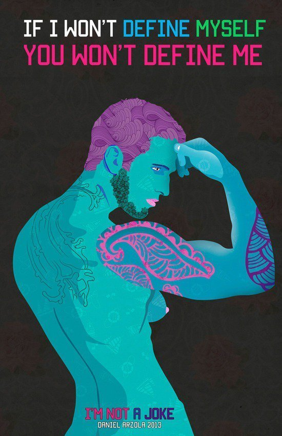 12 Well-Designed Posters That Break LGBT Stereotypes Perfectly Awesome Dragon Drawings Easy