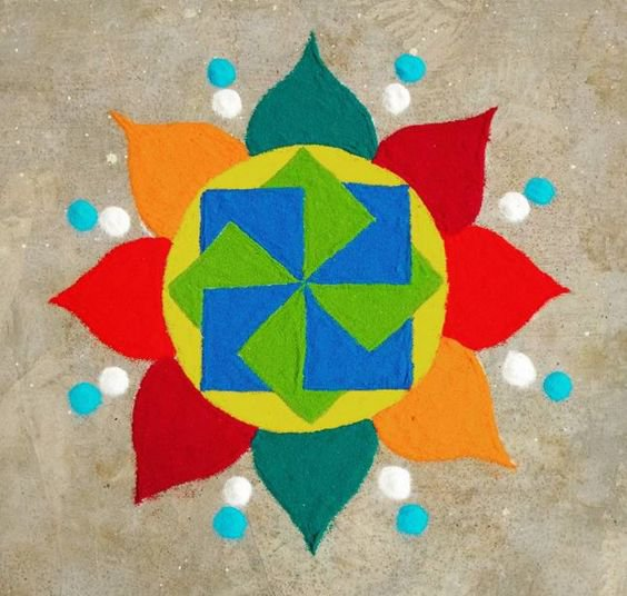 Brighten Up Your Home This Diwali With These 20 Easy-To-Do Rangoli ...