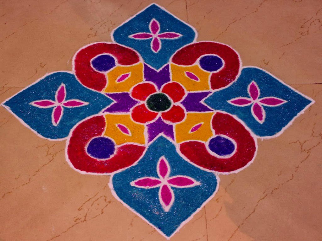 Brighten up your home this diwali with these 20 easy to do for Home rangoli designs