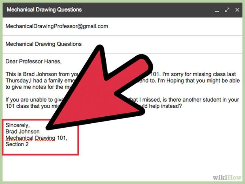 11 email etiquette you must know before sending your next email just not your name in the end ccuart Image collections