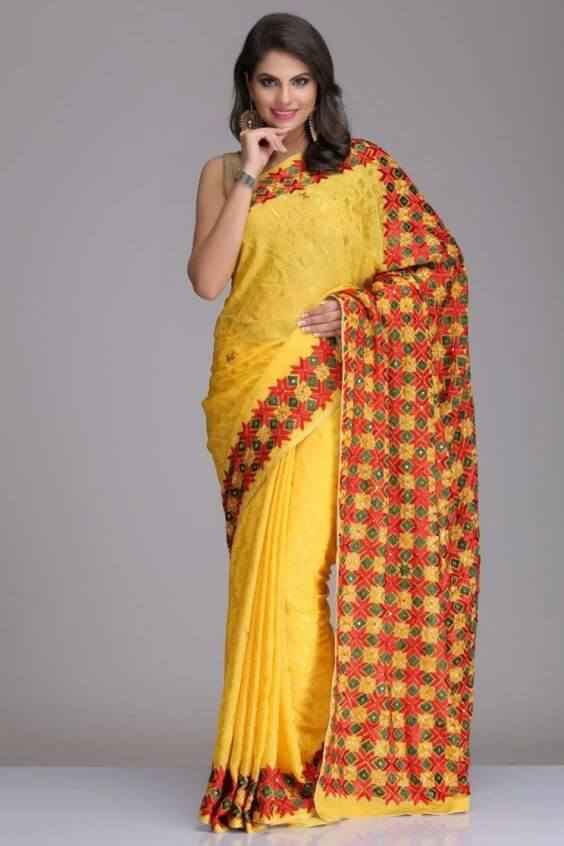 689fd84c98 15 Types Of Sarees From Across The Country Every Indian Woman Must ...
