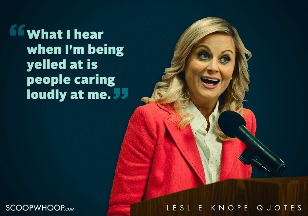 Image result for leslie knope quotes