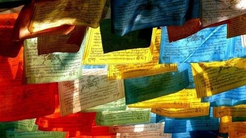 Heres What The Different Colours Of The Buddhist Prayer Flags Signify