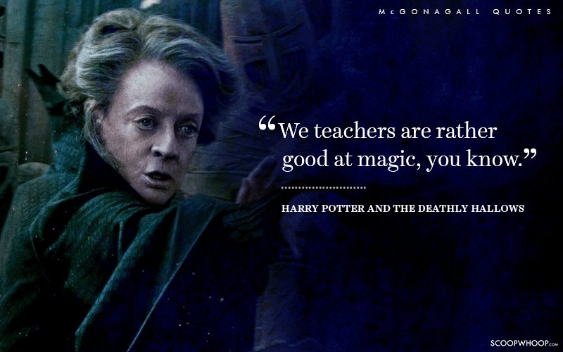 15 Times Professor Mcgonagall Proved That She Is The Official Queen