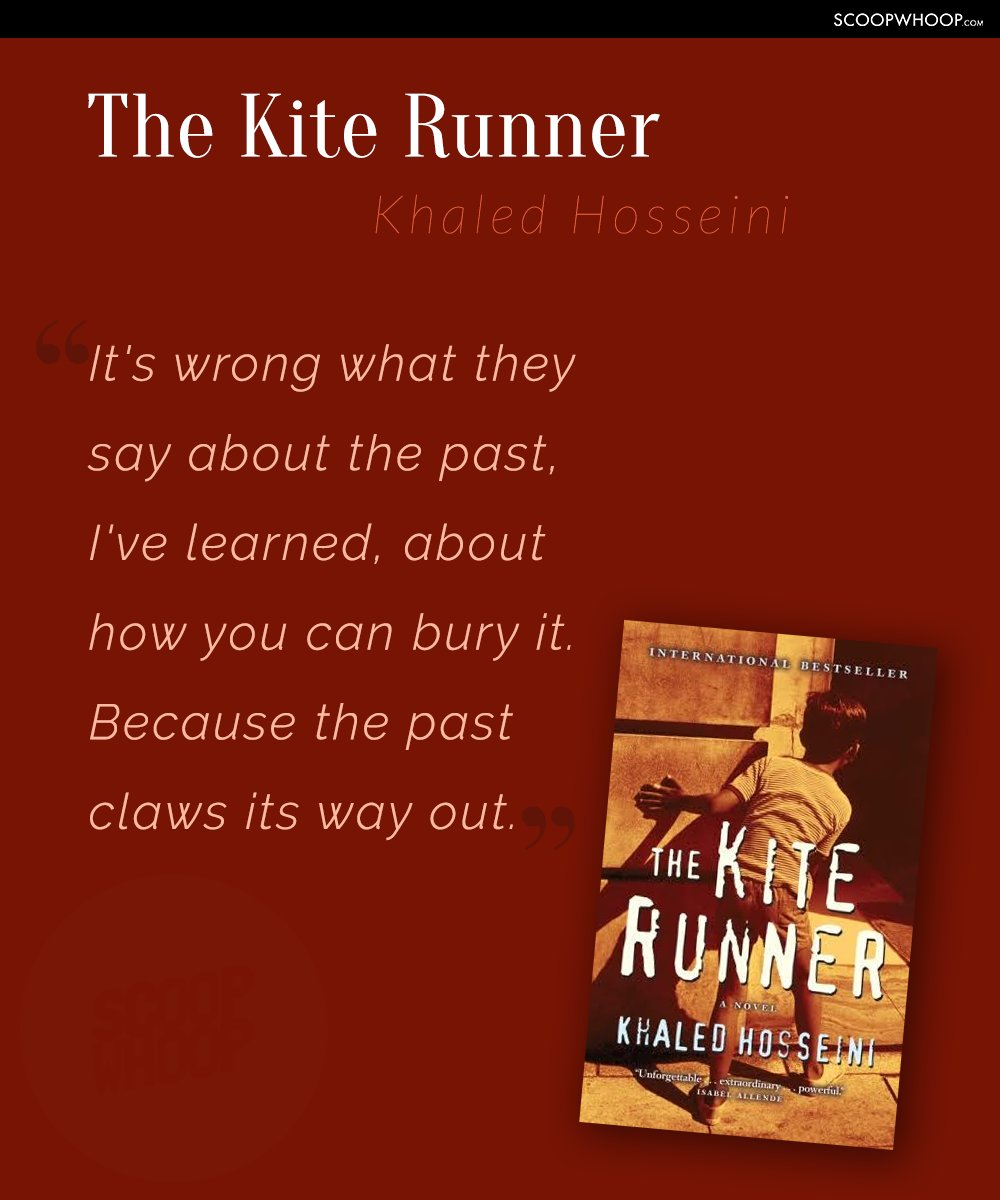 the past claws its way out the kite runner Persistance of the past in the kite runner in the kite runner, amir demonstrates that the past has a large the past always claws its way out and affects.