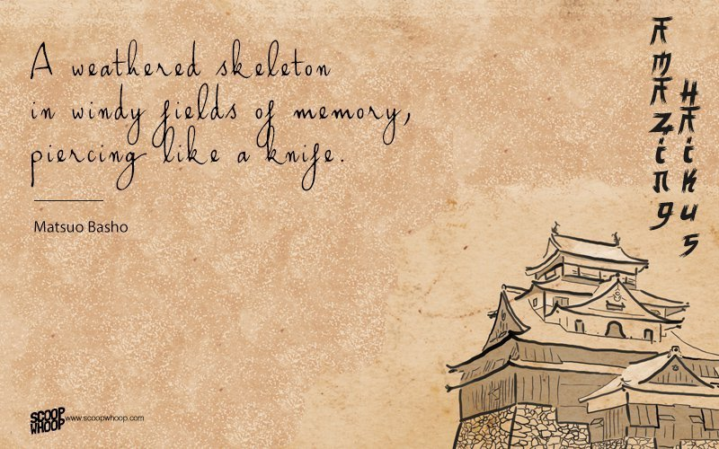 haiku middle eastern singles The haiku poet matsuo bashō had used two other haigō before he became fond of a banana plant (bashō) that had been given to him by a disciple and started using it as his pen name at the age of 36 similar to a pen name, japanese artists usually have a gō or art-name, which might change a number of times during their career.