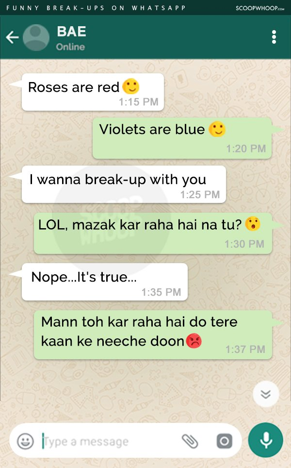 After Reading These Break-up Messages On WhatsApp, You'll Be