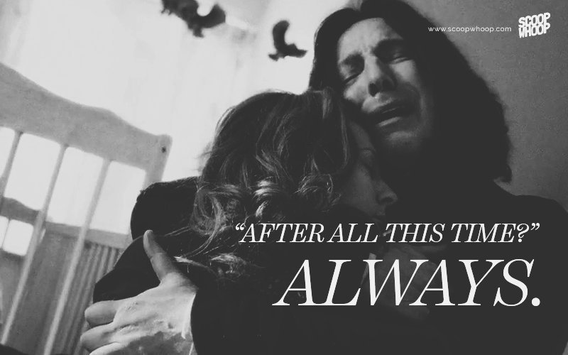 Harry Potter Love Quotes Awesome 48 Quotes By Snape The Harry Potter 'Villain' That We All Grew To Love
