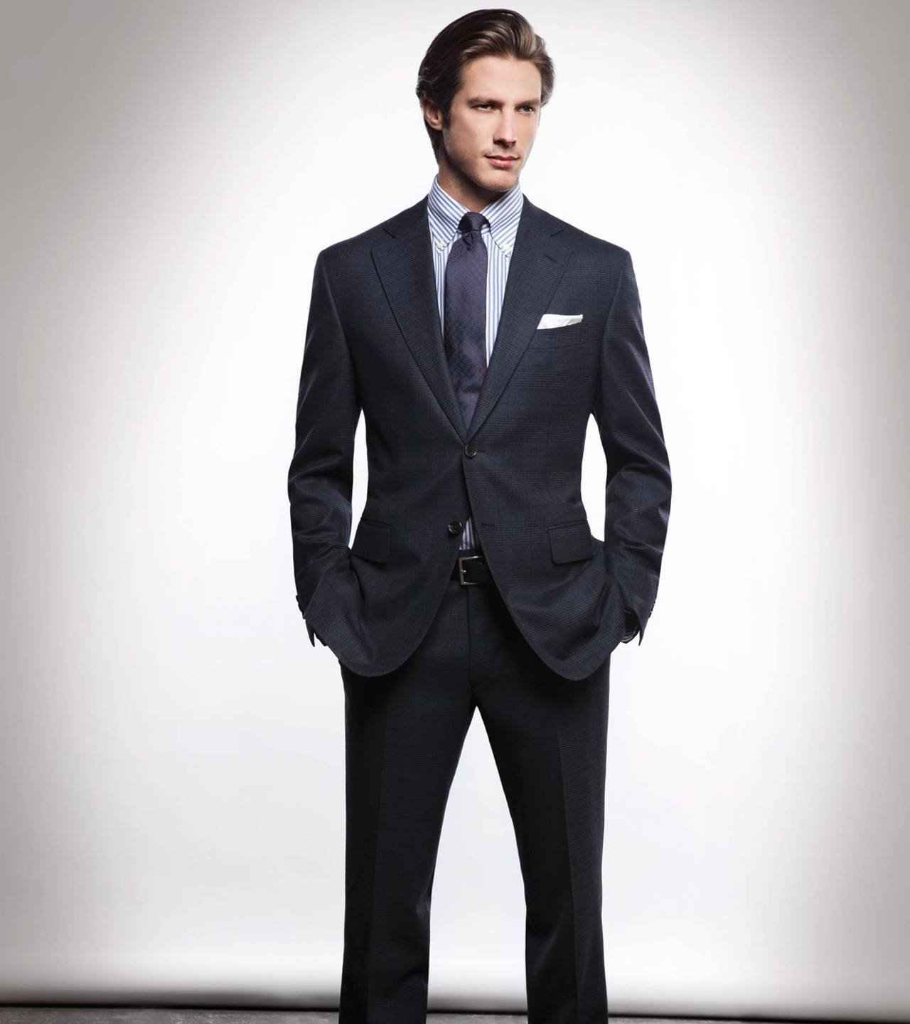 How to wear a suit 23