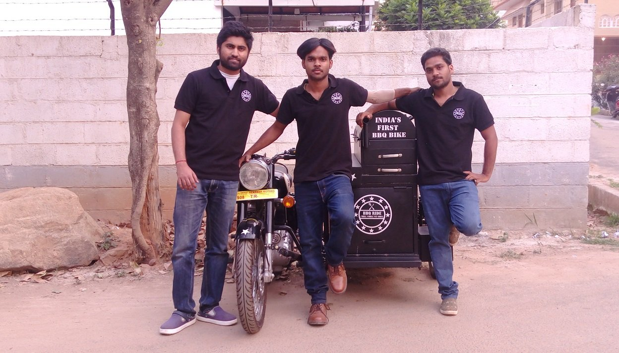 These Brothers Run A Badass BBQ Food Joint Out Of Their Royal Enfield Bikes!