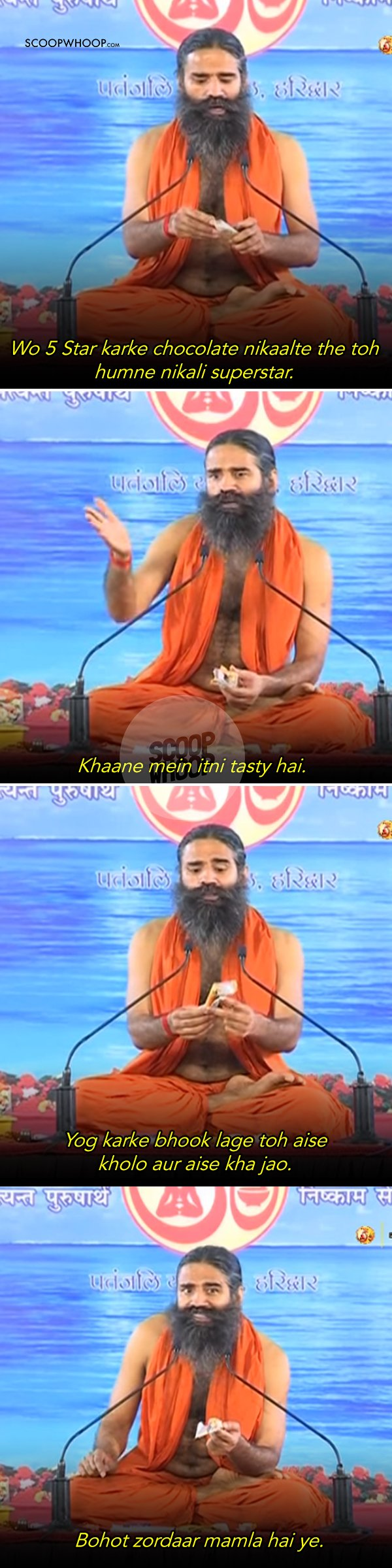7 Golden Baba Ramdev Statements That Yoga-ed The F**k Out Of