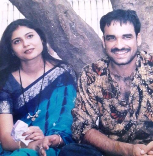pankaj tripathi and his wife