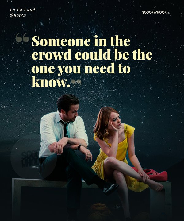 16 Quotes From La La Land That Will Inspire You To Never Let Go Of