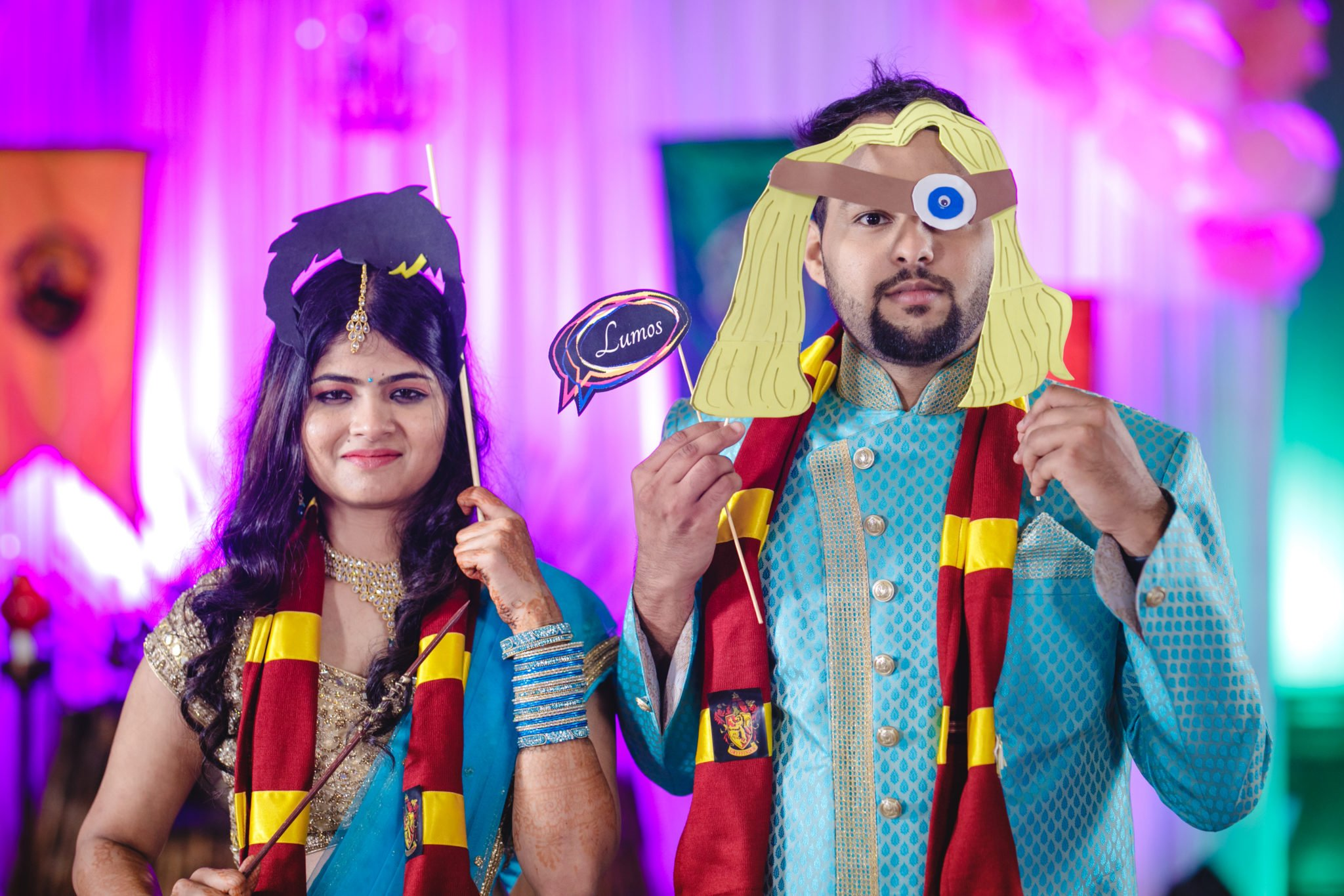 This Couple Had A Harry Potter Themed Sangeet And The Pictures Are