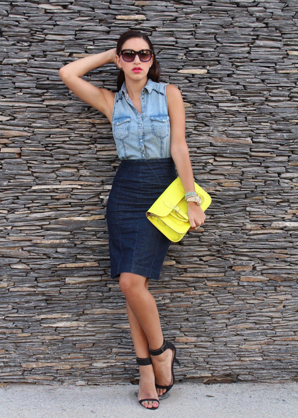 e92fe3b796 10 Innovative And Stylish Ways To Wear A Pencil Skirt