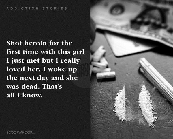 Redditors Revealing Their Most Messed Up Addiction Tales Is