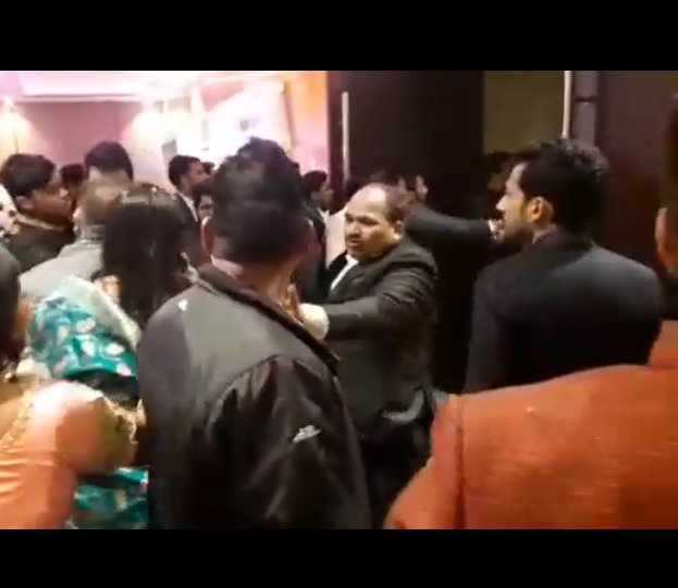 This Video Of Guests Starting A Fight Over Bad Food At A