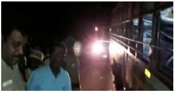 10 People Dead 22 Injured After Bus Crashes Into Truck Carrying Steel Rods In Thanjavur