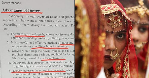 advantages of dowry system