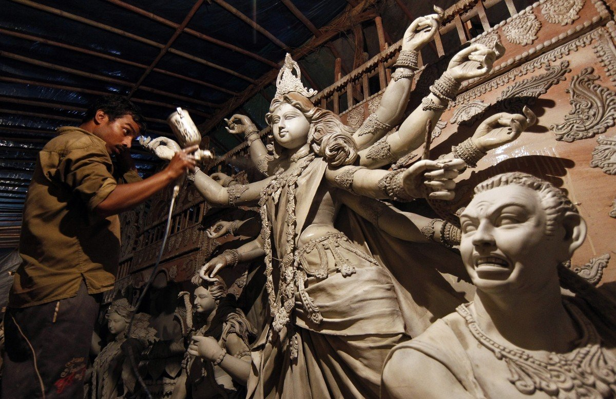 The Powerful Reason Why Soil From Brothels' Homes Is Used To Make Goddess Durga's  Idols