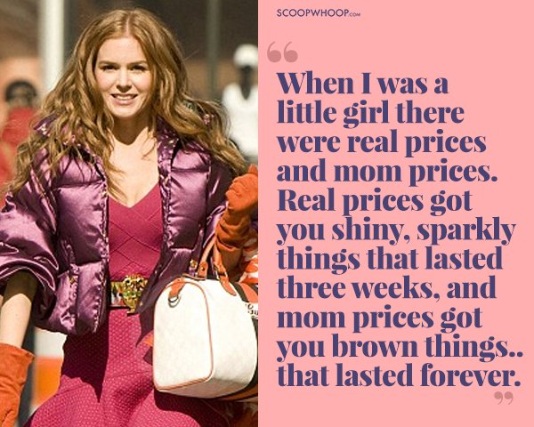 15 Quotes From Confessions Of A Shopaholic Thatll Speak To The I Have Nothing Wear Girl In Us